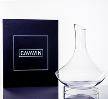 Cavavin CAV-0372 Crystal Decanter And Base For White and Red Wines - 1.5L