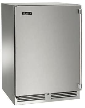 Perlick HP24CO-3-1L 24in Outdoor Undercounter Refrigerator and Wine Reserve With Stainless Steel Door 5.0 Cu. Ft.