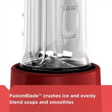 Black & Decker PB1002R Personal Blender Fusionblade 275W 3 Speed - Black
