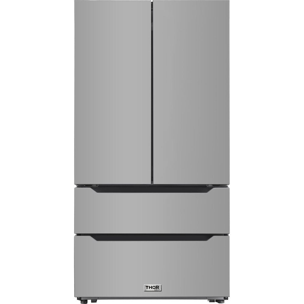 Thor 36 in. HRF3602 French Door Refrigerator Stainless Steel 22.5 Cu.ft.