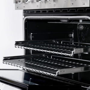 Cosmo 36 in. Gas Range with 6 Italian Burners Heavy Duty Cast Iron Grates in Stainless Steel COS-GPR366