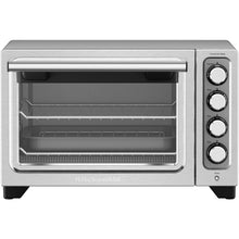 KitchenAid KCO253CU Compact Convection Toaster Oven 4 Slice 1425W - Silver