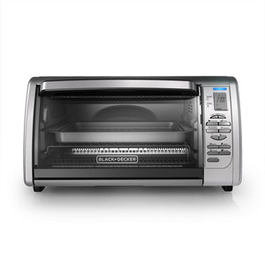 Black & Decker CTO6335S Convection Toaster Oven Broiler 6-Slice Silver