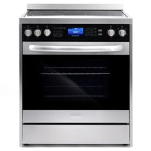 Cosmo 2 Piece Kitchen Appliance Package - Electric Range And Range Hood COS-305AERC/QS75