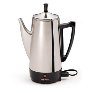 Presto 02811 12 Cup Coffee Maker - Stainless Steel