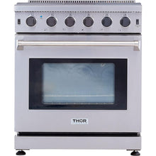 "Thor 30"" Free-Standing Gas Range in Stainless Steel 4.55 cu ft. LRG3001U"