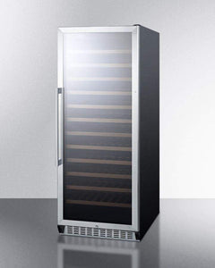 Summit Appliance Wine Reserves 102 Bottle Single Zone Built-In Wine Cooler