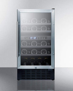 Summit Appliance Wine Reserves 28 Bottle Dual Zone Convertible Wine Cooler