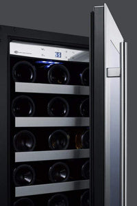 Summit Appliance Wine Reserves 34 Bottle Single Zone Convertible Wine Cooler
