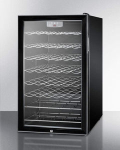 Summit Appliance Wine Reserves 40 Bottle Single Zone Convertible Wine Cooler