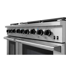 Thor Kitchen Ranges Thor Kitchen 48 in. 6.8 cu. ft. Double Oven Gas Range in Stainless Steel, LRG4801U