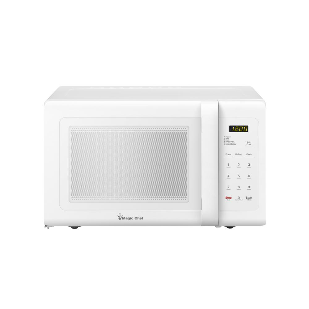 Magic Chef MCD993W Countertop Microwave 900W - White