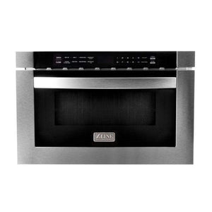 "ZLINE Kitchen Microwaves 24"" Microwave Drawer in Stainless Steel"