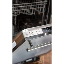ZLINE Kitchen Dishwashers Zline 18 in. Top Control Dishwasher in Stainless Steel with Stainless Steel Tub and Modern Style Handle