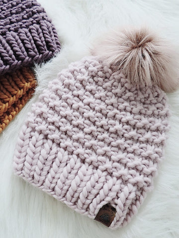 4837502285311 I m back with a super bulky knitting hat pattern using the softest most  squishiest yarn from Sugarbush. If you haven t used their Chill line yet  you are ...