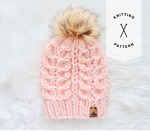 The Snowy Owl Hat Knitting Pattern - Instant Download