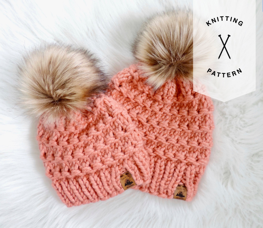 The Kerrisdale Beanie Knitting Pattern - Instant Download