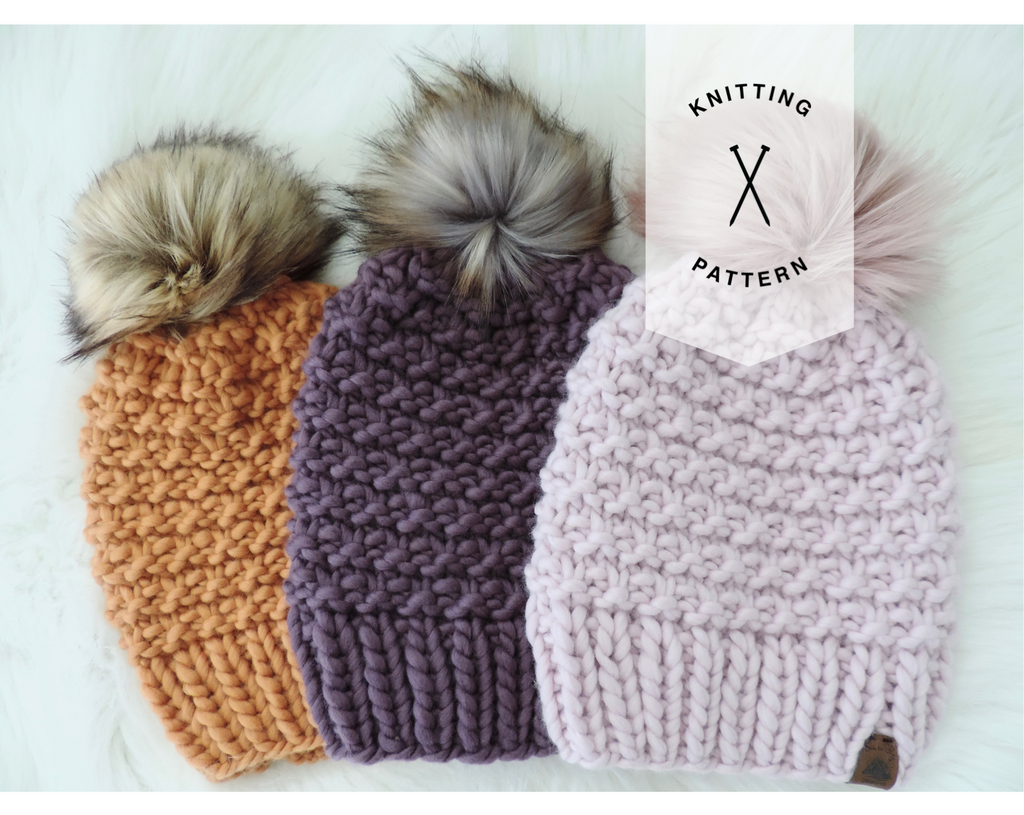 The Shaughnessy Hat Knitting Pattern - Instant Download