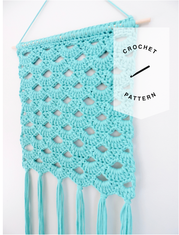 The Adelia Wall Hanging Crochet Pattern - Instant Download
