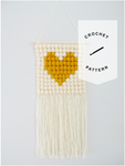 That's Amore Wall Hanging Crochet Pattern - Instant Download
