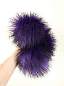Made to Order - Electric Violet Faux Fur Pom