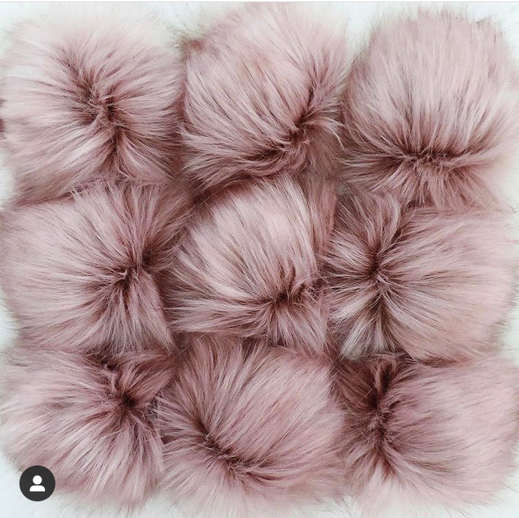 Made to Order - Blush Faux Fur Pom