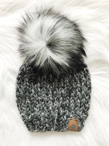 Ready to Ship Toddler Size Solid Knit Hat