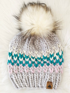 Ready to Ship 100% Merino Wool Chunky Knit Hat