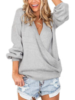 Droit Sexy Manche longue Sweaters