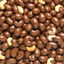 Australian Milk Chocolate coated cashew nuts