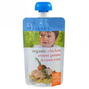 Bellamy's Organic Chicken Sweet Potato & Cous Cous Ready To Serve Baby Food (No Preservatives) From 6 months