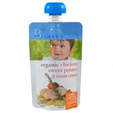 Load image into Gallery viewer, Bellamy's Organic Chicken Sweet Potato & Cous Cous Ready To Serve Baby Food (No Preservatives) From 6 months