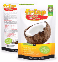 Load image into Gallery viewer, Crispy Natural Fruit Gluten Free Organic Coconut Chips