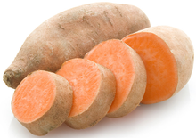 Load image into Gallery viewer, FIJI FRESH SWEET POTATO - DIRECT FROM FIJI - WE CAN ALSO ASSIST SWEET POTATO BUYERS WITH FROZEN SWEET POTATO - CONTACT US TODAY