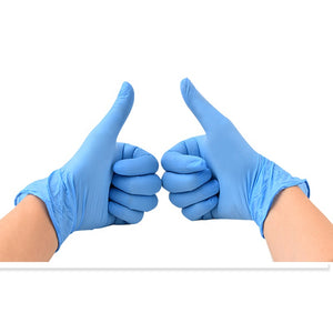 Nitrile Gloves - Powder Free Medical Safety Gloves Examination Disposable