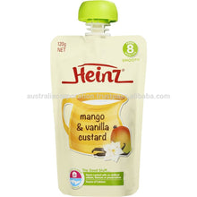 Load image into Gallery viewer, Heinz Little Kids Banana Mango Muesli with Yoghurt Pouch 150g 1-3 Years breakfast