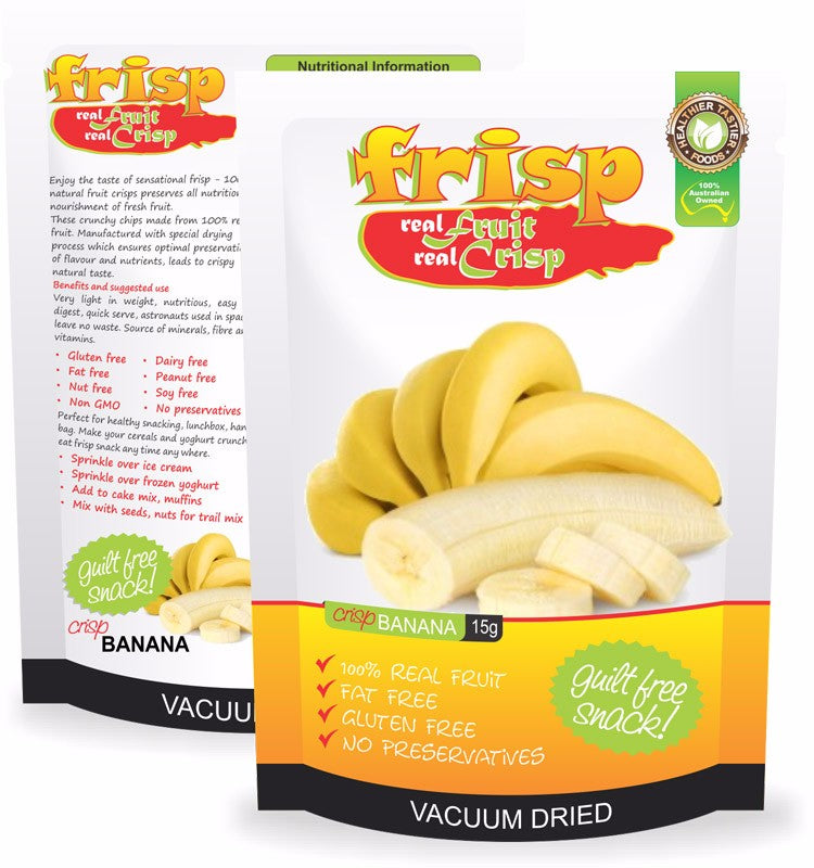 Unique High in Organic Dietary Fibre Tasty Banana Flavored Healthy Snacks