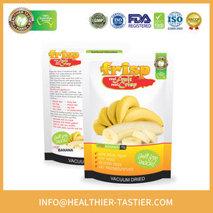 Freeze Organic Dried Bananas