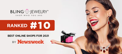 Blingjewelry.com ranked #10 Best Online Shop for 2021 by Newsweek