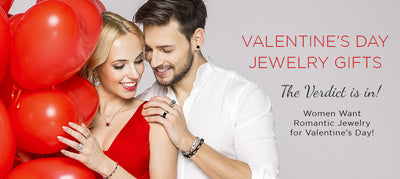 The Verdict is in! Women Want Romantic Jewelry for Valentine's Day!