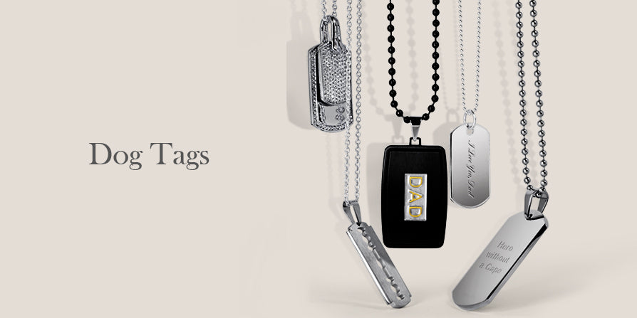 Father's day dog tag