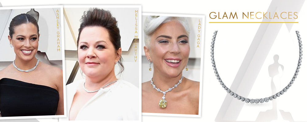 glam necklaces