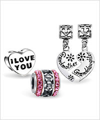 Pandora Compatible Love Charms