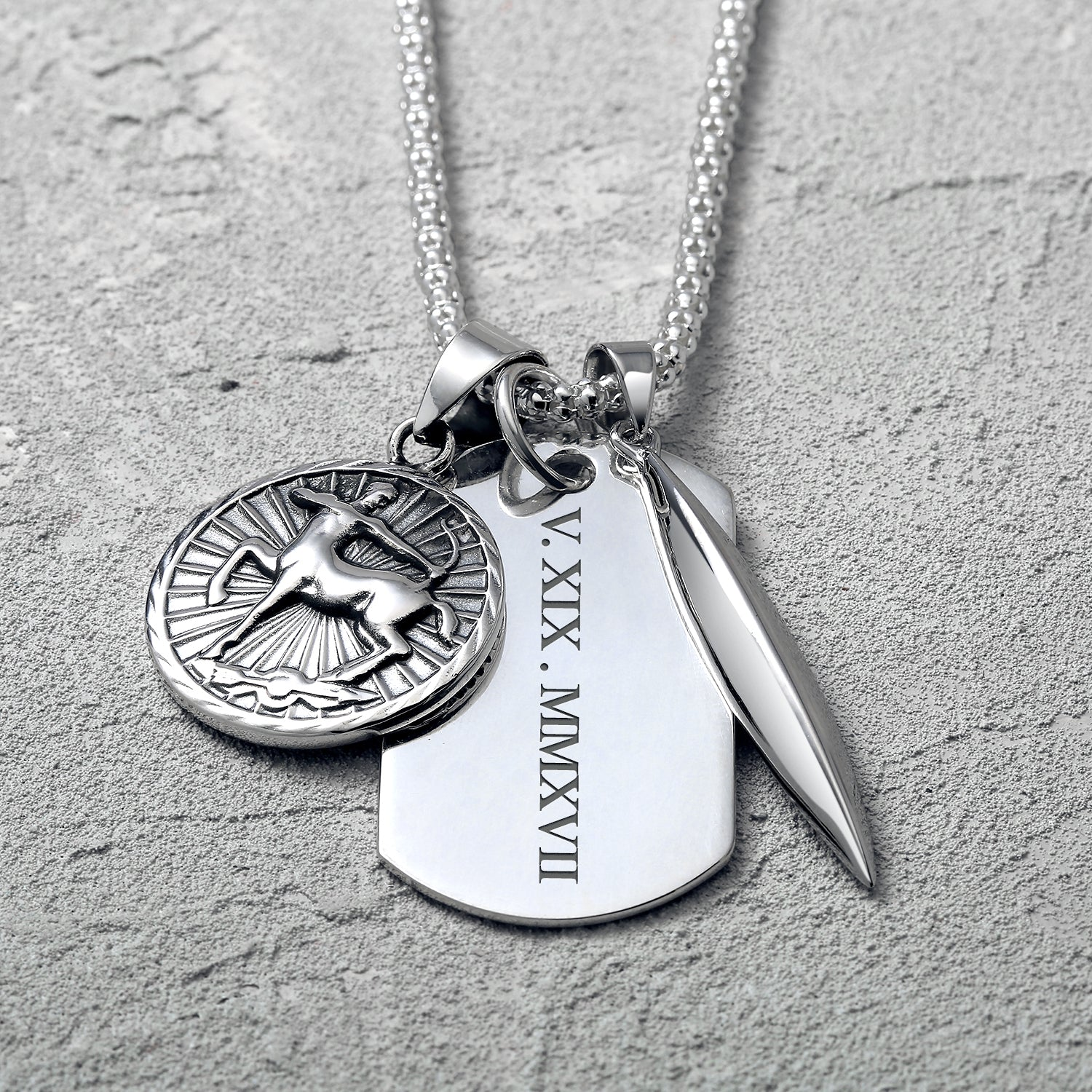 Gifts For Him Engravable Dog Tags