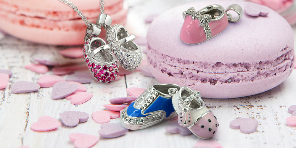 Baby Shoe Charms for Mom