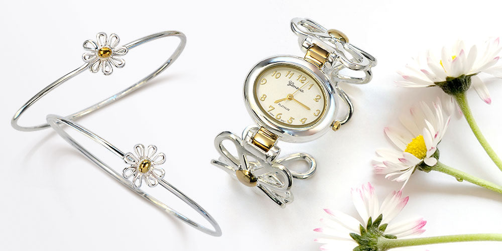 Flower Themed Watches for Mothers