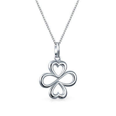 AYLLU Unity Symbol Pendant 925 Sterling Silver Necklace Love Luck