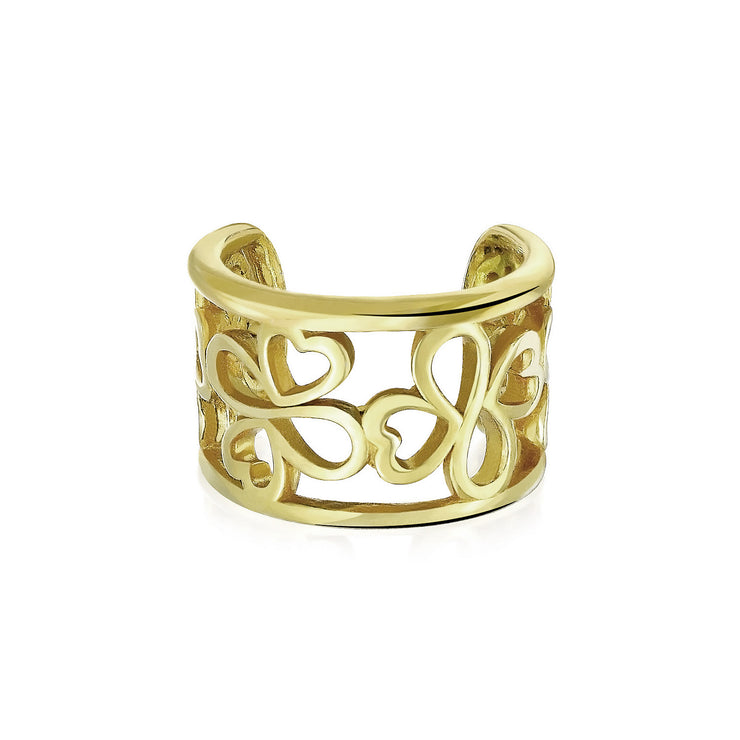 Yellow Gold Plated Silver