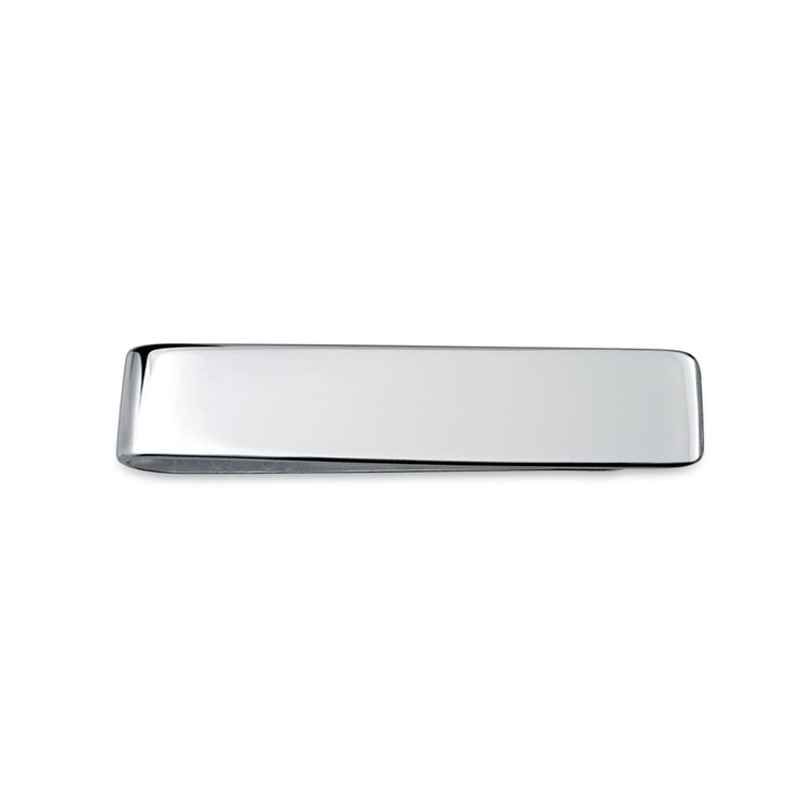 Basic Slim Money Clip For Men Plain Engravable Credit Card Polished