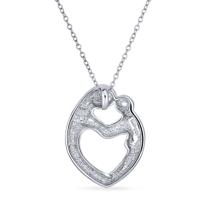 Rhodium Plated Silver